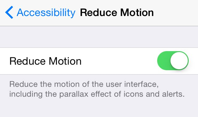 How to speed up a slow iPhone: Reduce motion