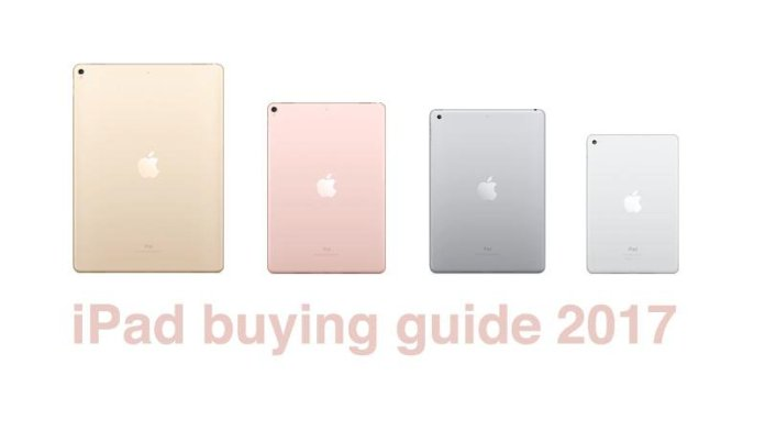 iPad Buying Guide 2018: Which iPad Should I Buy?