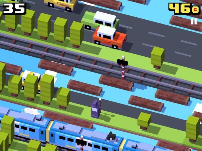 Best free iPad games: Crossy Road