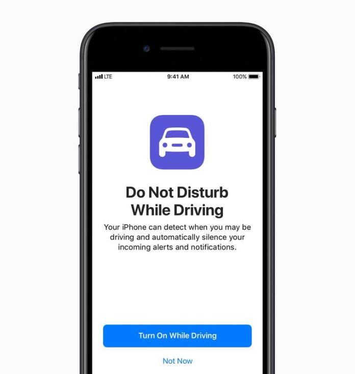 iOS 11 news: Do Not Disturb While Driving