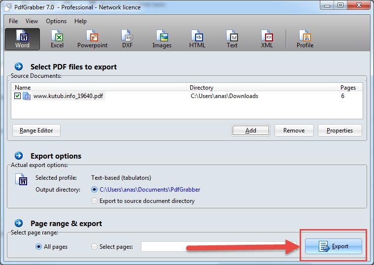 الطريقة الصحيحة لتحويل ملفات Pdf الى Word بدون اخطاء