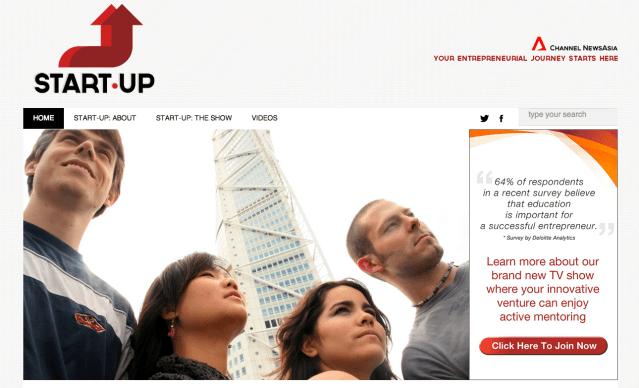 【Singapore】1億6000万のファンディングを目指して勝ち抜くスタートアップを地元のTV局が募集開始!