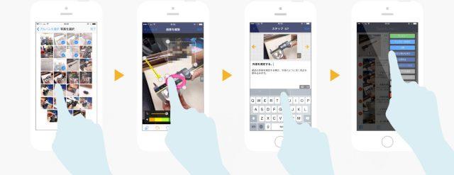 スタディスト、マニュアル作成ツール「Teachme Biz」  @maskin #appexpo