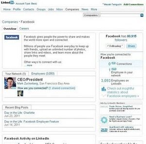 LinkedInにおける企業のすさまじい情報公開【谷口正樹】