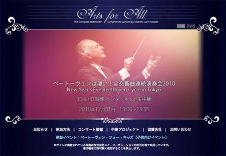 80歳の巨匠ロリン・マゼール氏10時間半ベートーベン全交響曲を3D+高品質音響ネット中継【あきみち】