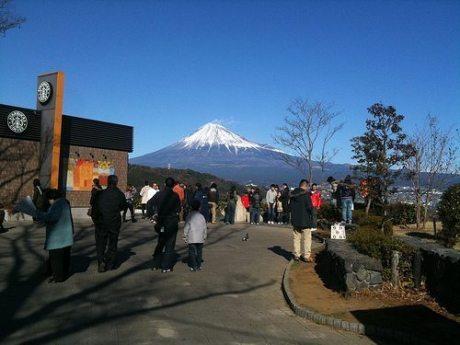 新年の富士を見に行ってきました