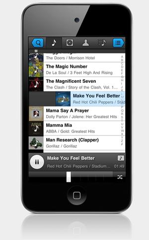 iPhoneの音楽プレイヤーを再定義する「Panamp」【増田(@maskin)真樹】