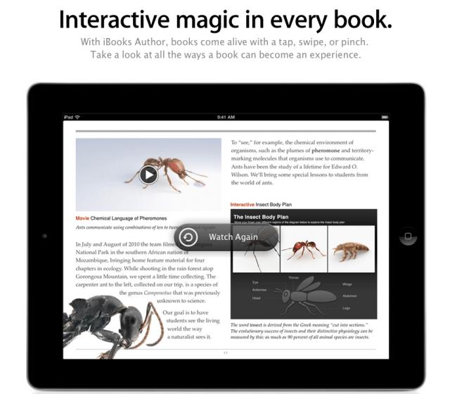 Appleの教育関連ソフトは教育、出版の何を変えるのか【湯川】