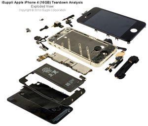 iPhone4の部品コストはたったの188ドル、初代モデルより安価 【増田(maskin)真樹】