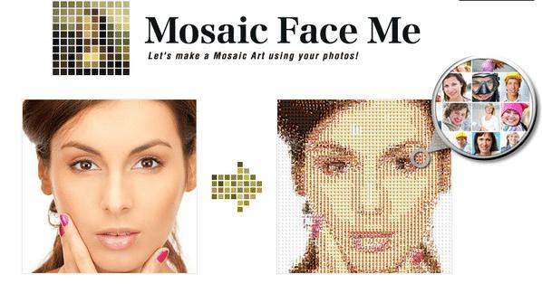 いきなり世界目線、Facebookフレンド写真群でモザイクアートを作成する「Mosaic Face Me」 【増田(@maskin)真樹】