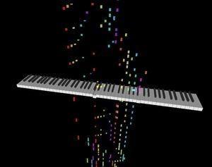 音楽MIDIデータをウェブで3D再生する「Euphony」 【増田 @maskin】