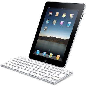 AppleタブレットiPadの別売キーボードドックとケースがおしゃれ