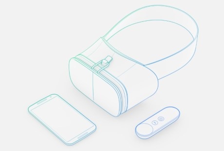 Google「Daydream」の高品質スマホVRヘッドセットは79ドル  【@maskin】@googlevr #io16