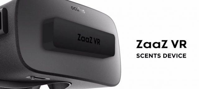 あの人の香りがする…ZaaZ VRはVRヘッドセット装着型の匂いデバイス 【@maskin】