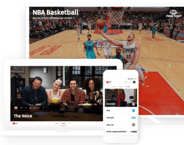 「テレビとネットの融合の時代」へ、全米主要テレビ局の番組をライブ視聴&無制限で保存できるYouTube TV発表 35ドルで6人分のアカウント提供 @maskin