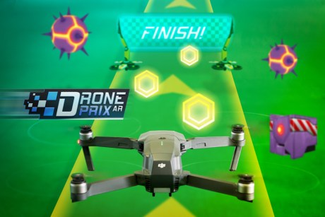 DJIのドローンで遊べる拡張現実 (AR)ゲーム、イスラエルEdgyBee社が発表