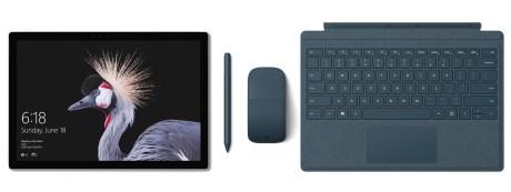 新 Surface Pro 登場、13.5時間バッテリーに最新Kaby Lakeプロセッサ搭載