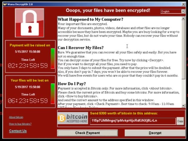 2分でわかるランサムウェア「WannaCry」の現在、古いバージョンのWindowsでは対策必須