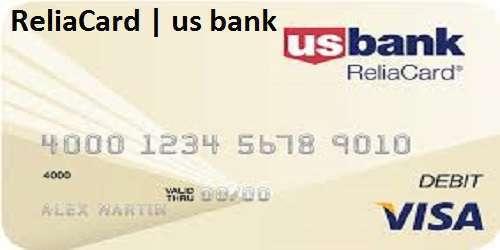 ReliaCard | us bank