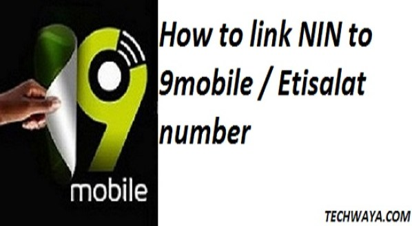 How to link NIN to 9mobile / Etisalat number