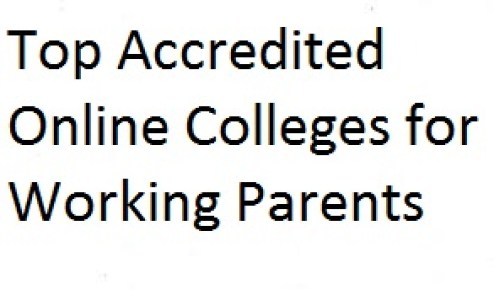 Online Colleges For Working Parents