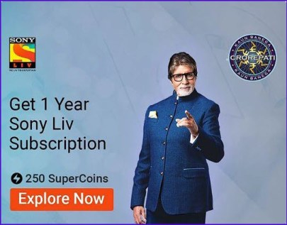 Sony Liv subscription one year free