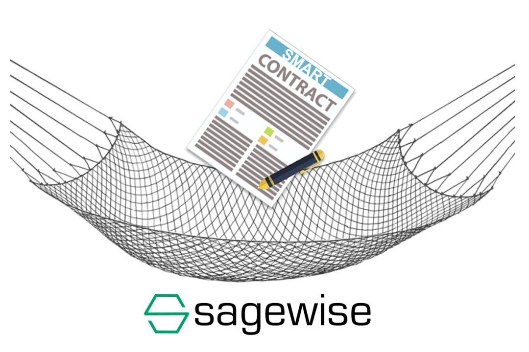 Sagewise-SDK-graphic showing protection net for smart contracts