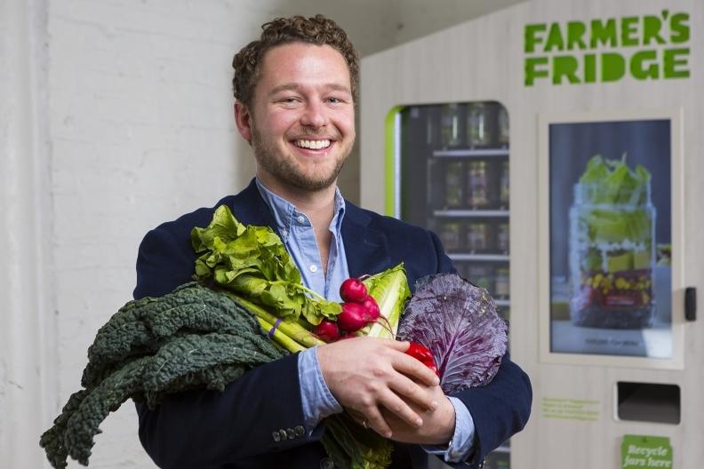 Farmer's Fridge CEO
