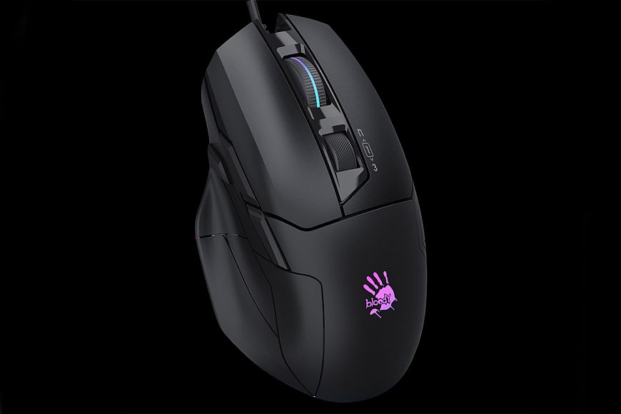 Bloody W70 Max - an indispensable mouse in gaming battles