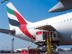 Emirates SkyCargo loading