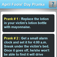 April Fools' Day Pranks