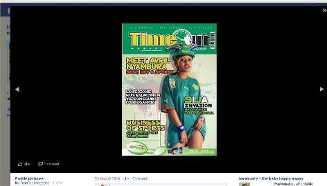 Black facebook image background