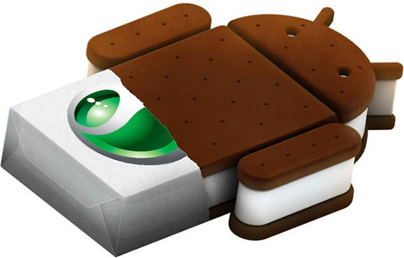 Ice cream sandwich for Xperia in Jan