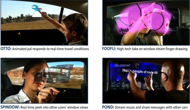 GM Rear Window Apps