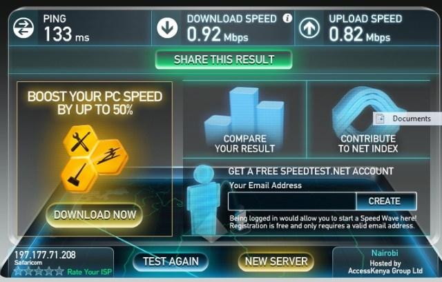 Safaricom unlimited data
