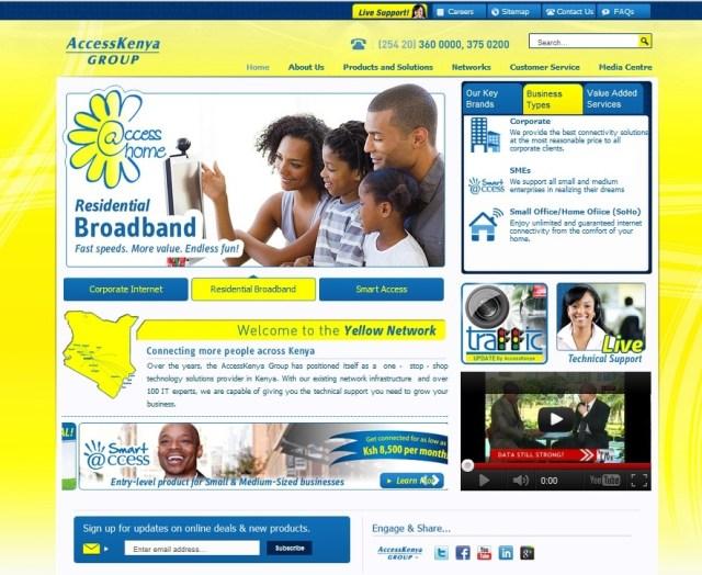 New AccessKenya Website