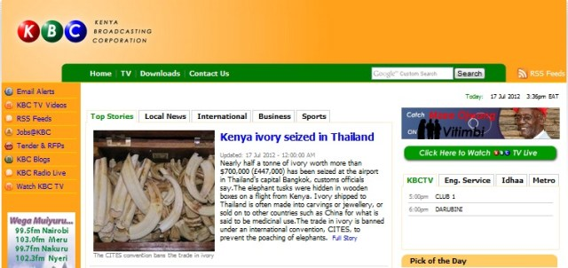KBC Website hacked