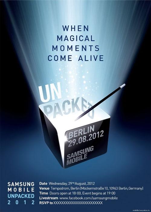 ifa unpacked Samsung