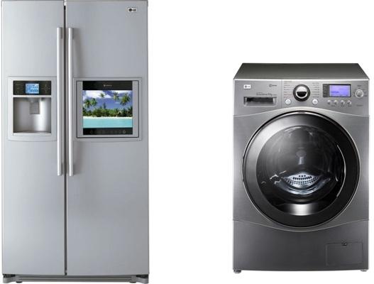 LG Washing Machine, Refrigerator