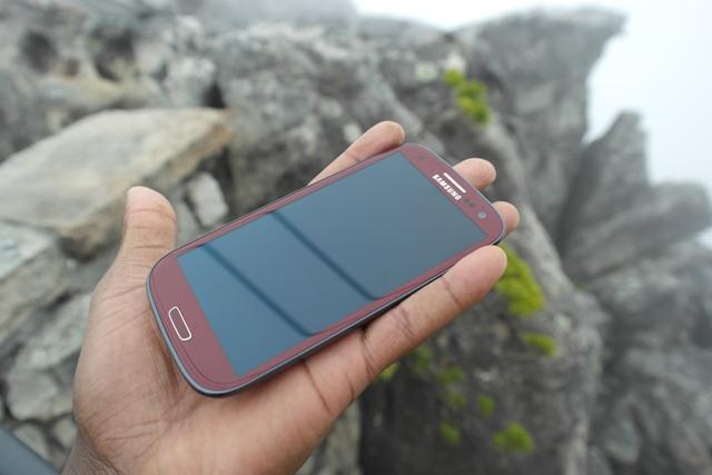 Garnett Red Galaxy S III
