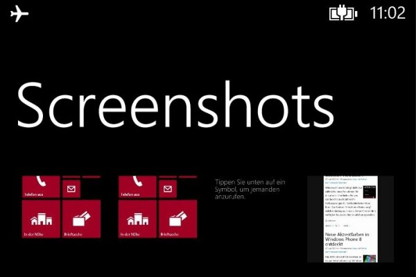 windows phone 8 screenshots