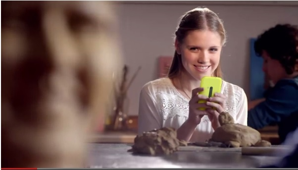 Lumia 720 yellow