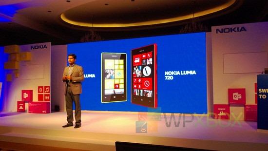 Lumia 520, Lumia 720 India