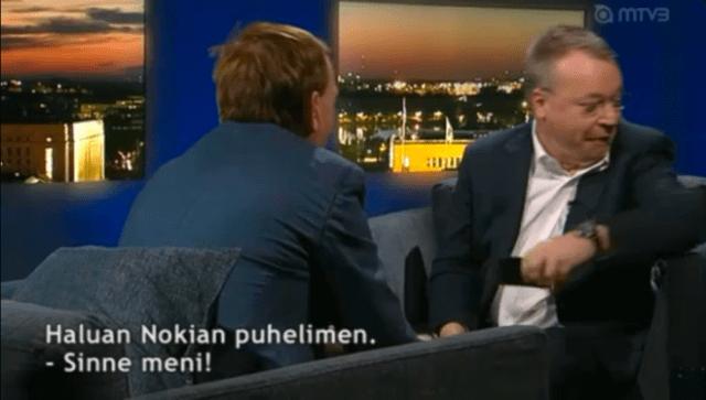 Nokia CEO Elop throws iPhone