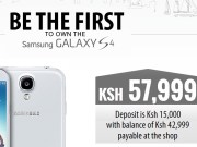 Safaricom Galaxy S 4 pre-order
