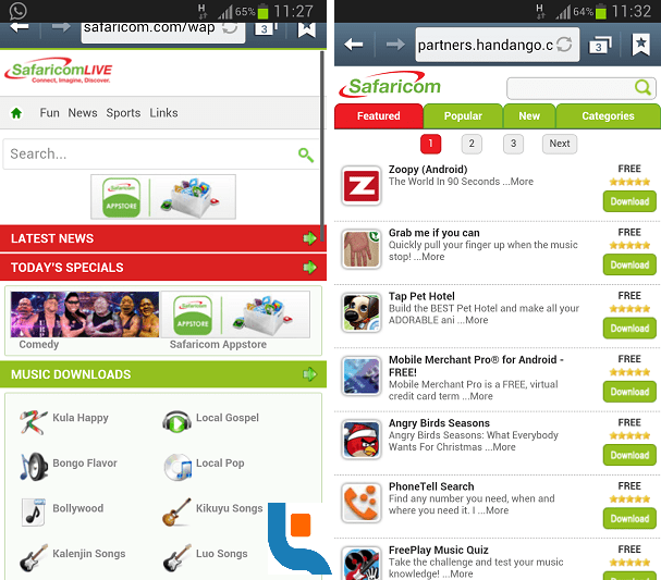 Safaricom App Store