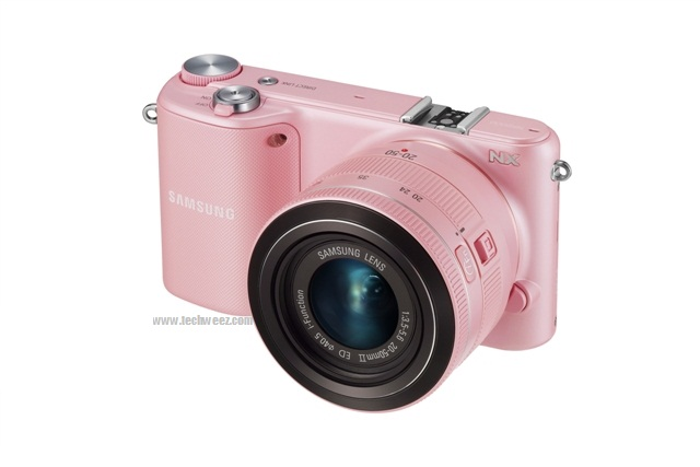 NX2000 White Black Pink