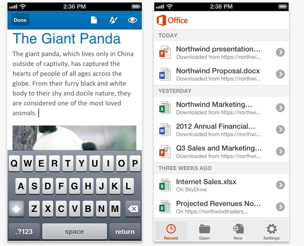 Office 365 for iPhone