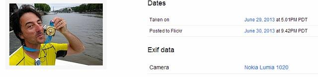 Lumia 1020 EXIF data