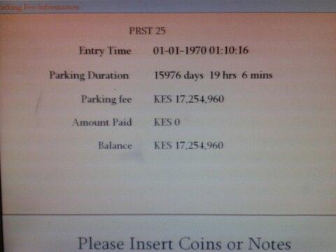 17 million parking bill